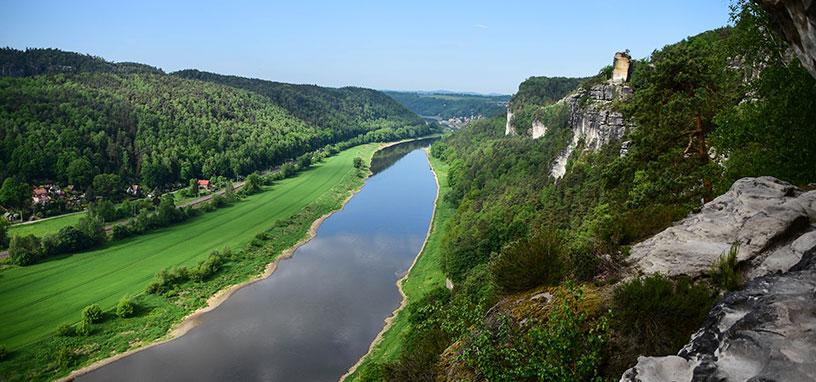 czech republic river view
