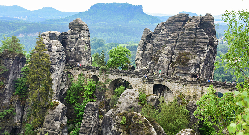 czech republic bastei bridge