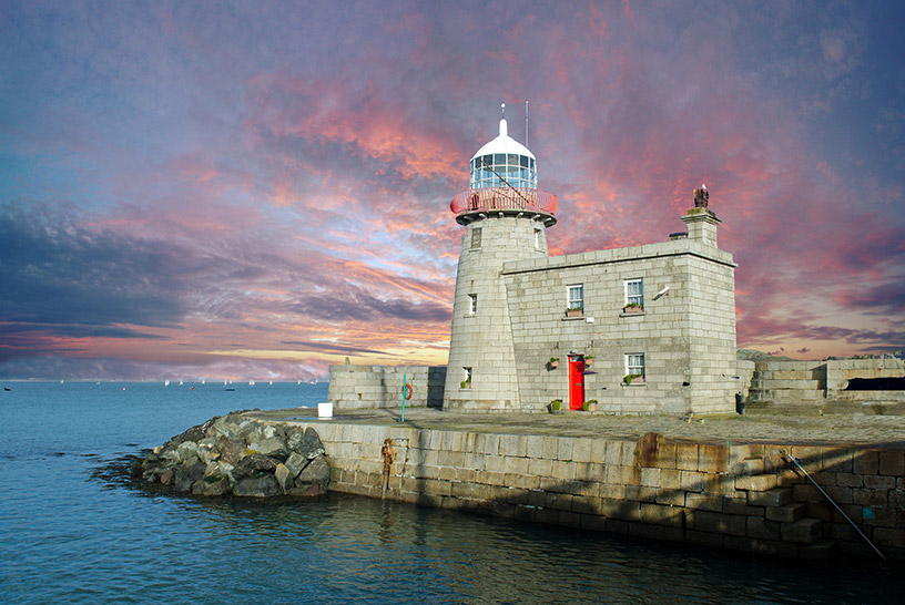 howth lighthouse ireland