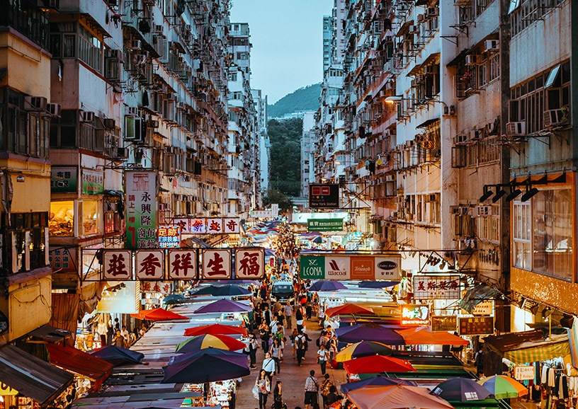 hong kong markets