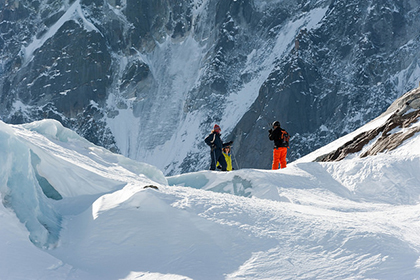 Everywhere you look in Chamonix, France is a winter wonderland for ski enthusiasts