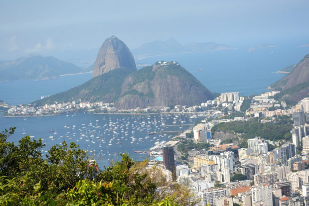 View of sugarloaf mountain