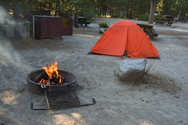 The Meeks Bay campground