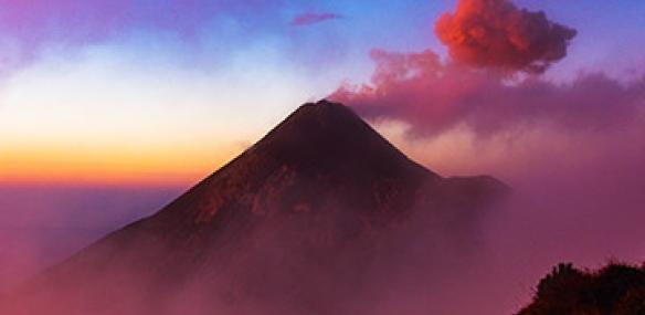 volcano camping in guatemala